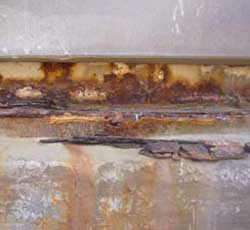 This image shows severe corrosion.